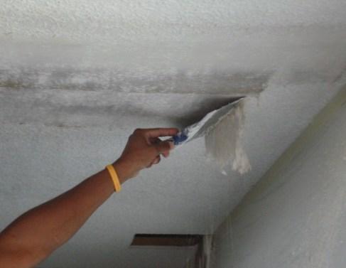 redecorating bathroom ceiling 2