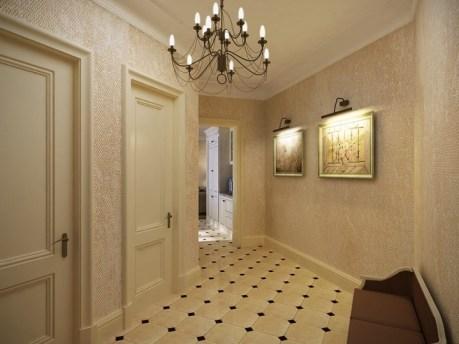 quartz wallpaper for hallway