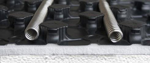 stainless steel pipes for underfloor heating