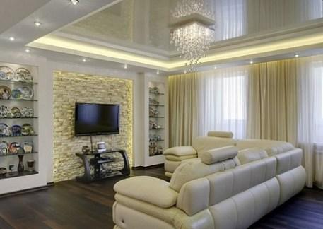lighting in the living room 2