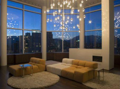 lighting in the living room 3