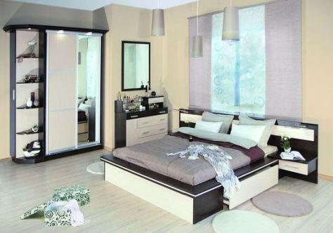 lighting cabinet in the bedroom