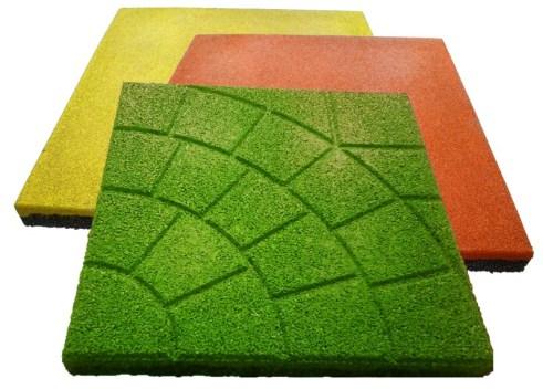 rubber tile advantages