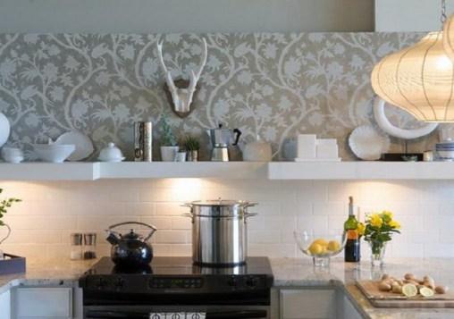 silkscreen in the kitchen