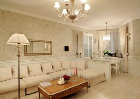 light wallpaper for living room