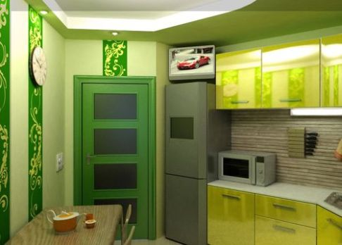 interior door color and wall color