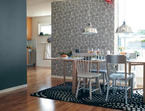 vinyl wallpaper in the kitchen