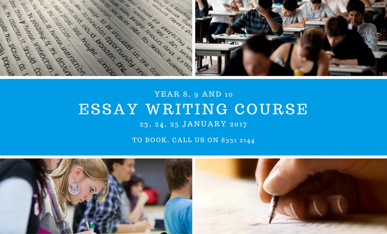 Essay Writing Course For Year 8, 9 & 10 Students