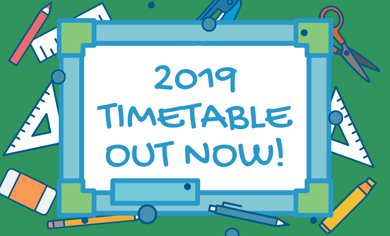 2019 Adelaide Tutors Timetable — It's Time to Book Your Classes