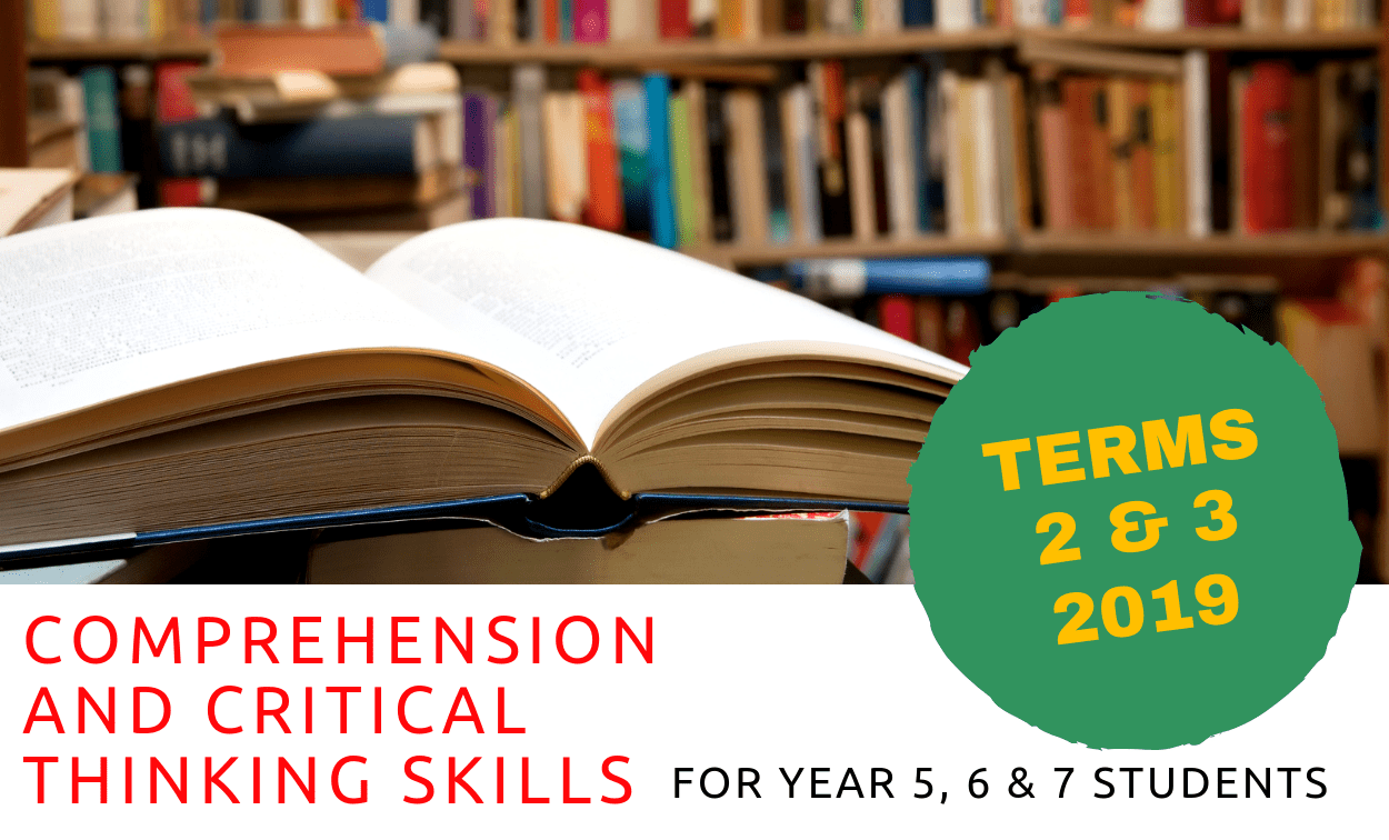 2019 Comprehension Skills Course for Year 5, 6 & 7 Students