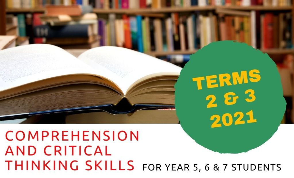 Adelaide Comprehension Skills Course 2021
