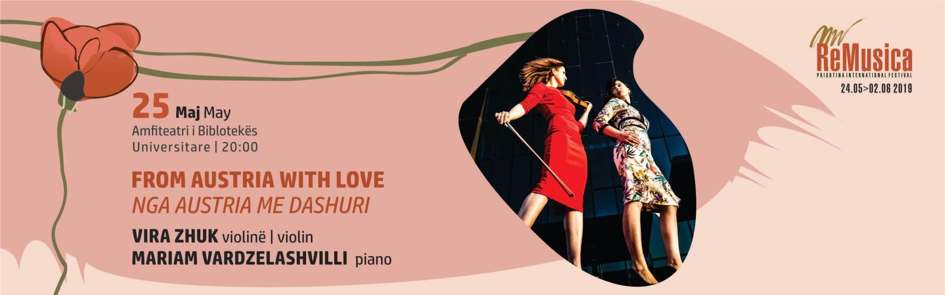 FROM AUSTRIA WITH LOVE | NGA AUSTRIA ME DASHURI – VM DUO
