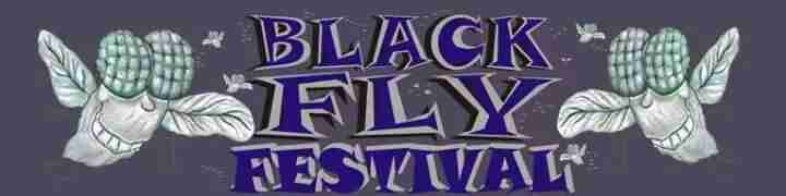 Black Fly Festival Logo