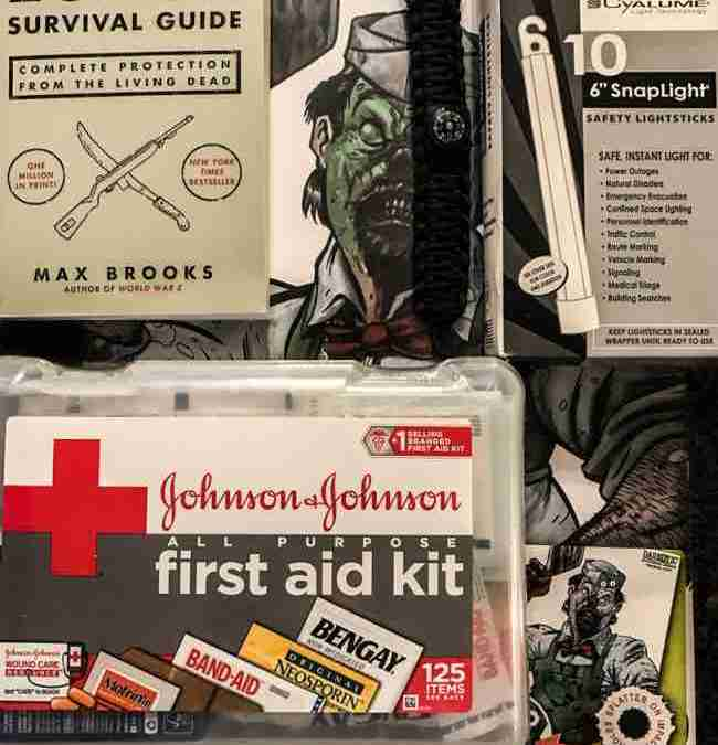 Zombie Survival Beginner Pack Raffle