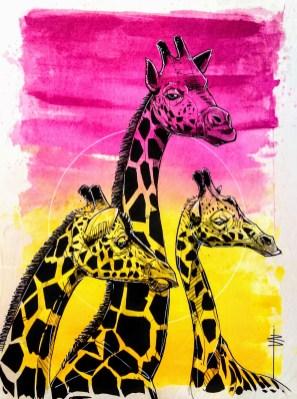 Giraffe family_01