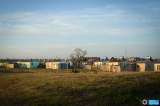 Tokyo Sexwale Township in Jeffreys Bay, South Africa.