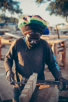 i am | the chair-smith. Auas Road, Windhoek, Namibia.
