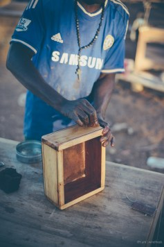 i am | the gentle caress of a finished box. Auas Road, Windhoek, Namibia.