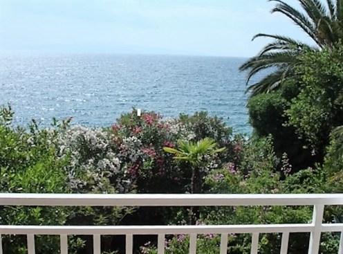 Blick von der Terrasse Trogir