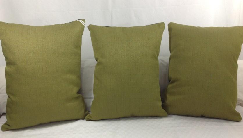 Arrière tissu vintage couleur vert olive