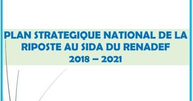 RENADEF : Plan Stratégique National de la Riposte au VSida, 2018 – 2021