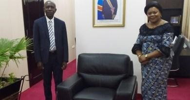 Rencontre Dr YUMA RAMAZANI et Mme Marie NYOMBO ZAINA : Les relations sont au beau fixe entre le Secrétaire Général à la Santé et le RENADEF