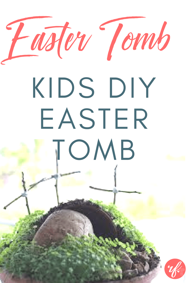DIY Easter Empty Tomb Craft