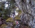 Leichte Kraxelei unterhalb der Geisskappel
