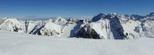 Gipfelpanorama Nordost