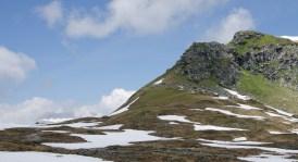 Nochmals Blick zurück auf das soeben bestiegene Gipfeli