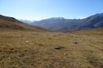 Blickrichtung Südwest, im Hintergrund Südtiroler Gipfel