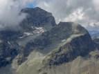 Granitkoloss Piz Julier mit gleichnamigem Gletscherchen