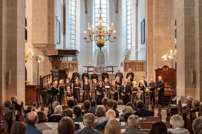 Performing in Pieterskerk, Utrecht