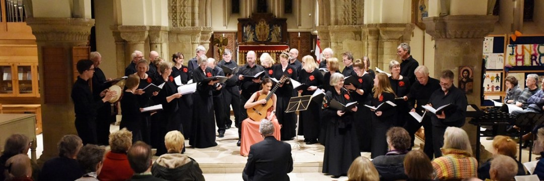 The Renaissance Choir presents concerts in Petersfield and Havant with guitarist