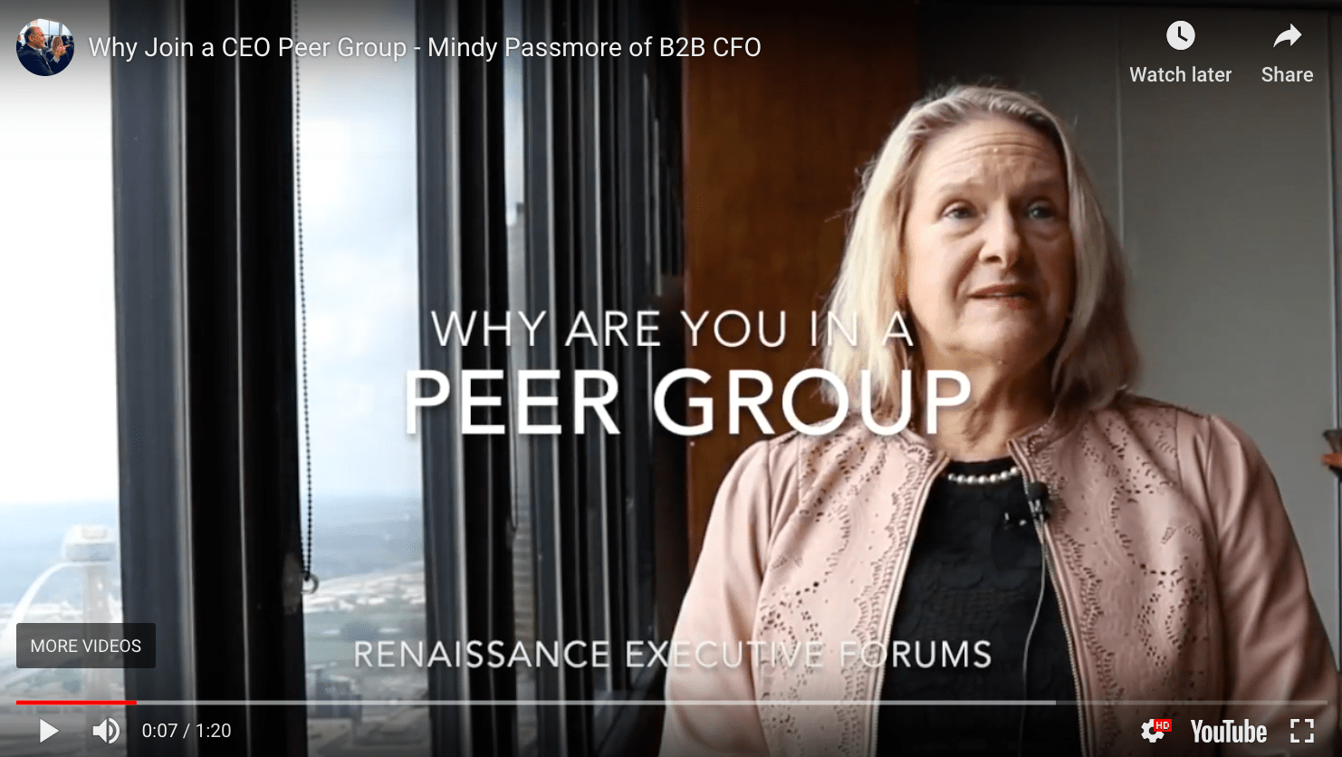 CEO Peer Group, CEO peer group Dallas, member testimonial, Renaissance Executive Forums Dallas, Mindy Passmore