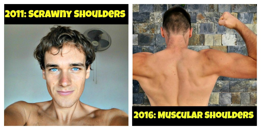 Shoulder Workout Before And After Shoulder exercises.