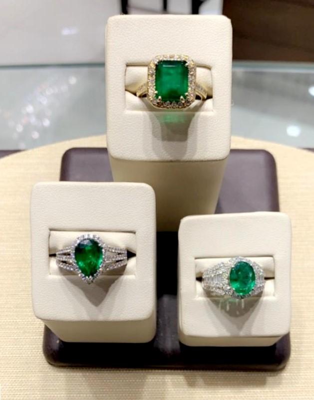 Emeralds St. Thomas Ring