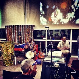 Sitting in w/ Baba Issa and Ralph Jones
