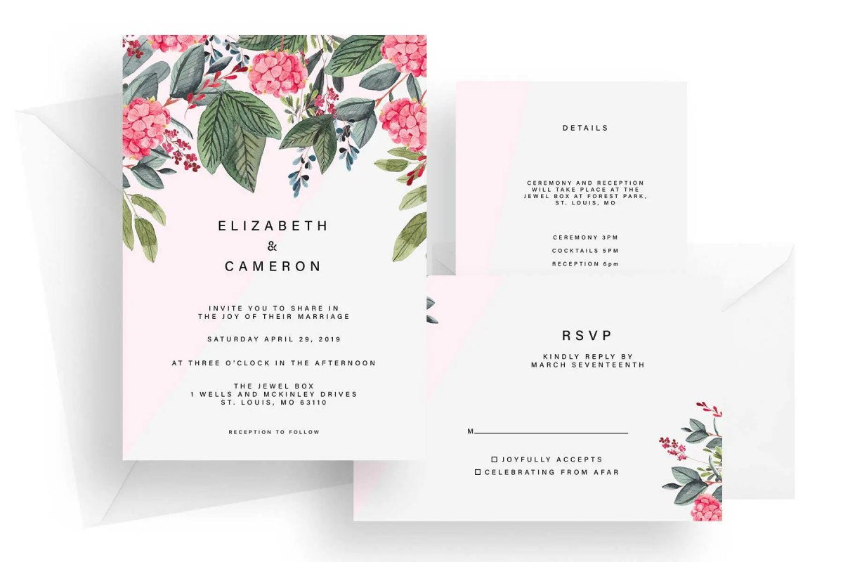 wedding invitation st louis