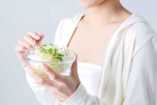 食事制限と姿勢の端正