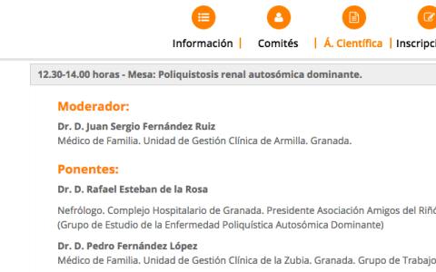 Mesa PQRAD; Congreso Nacional SEMERGEN; Granada, 26 Octubre 2017