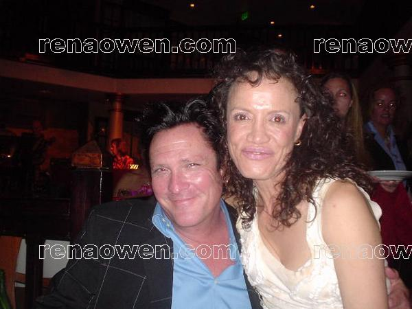 Rena and actor Michael Madsen