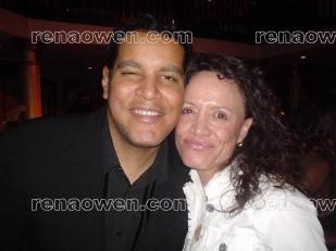 Rena and singer-songwriter Chris Pierce