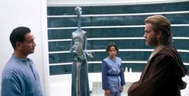 Taun We (Rena Owen) introduces Obi-Wan Kenobi to Jango Fett