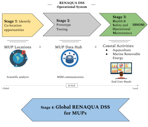 RENAQUA DSS development stages