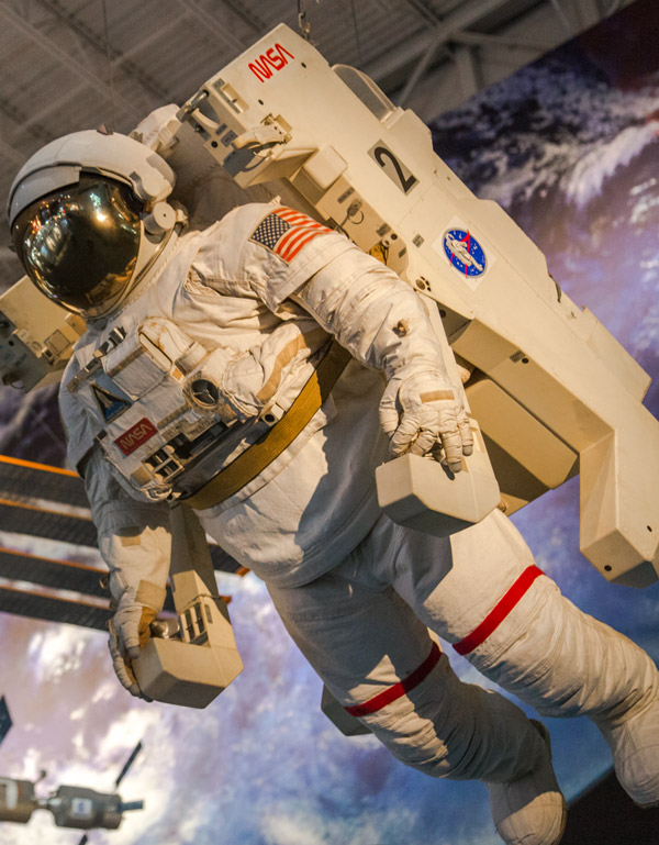 Um dia na NASA e no Space Center Houston
