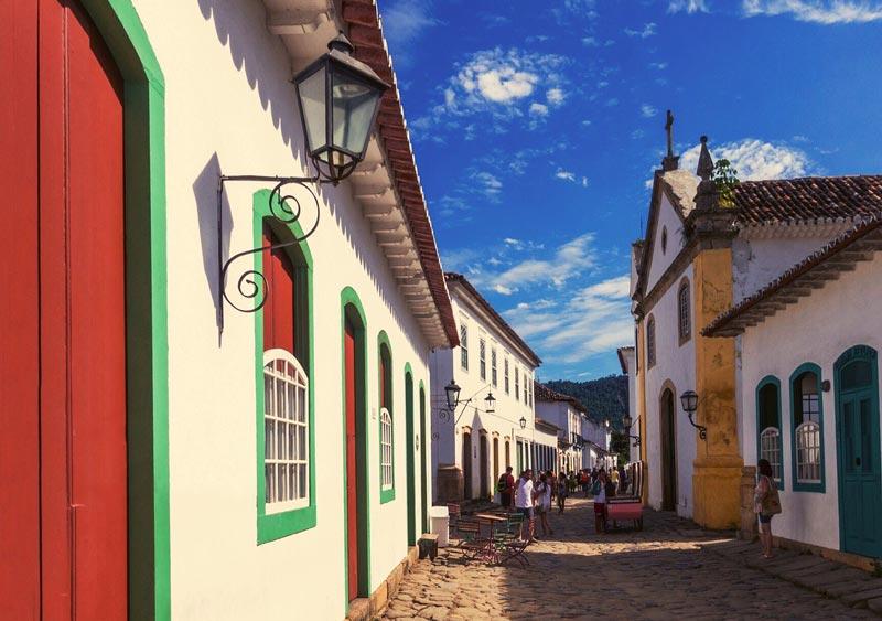 Paraty, no estado do Rio de Janeiro