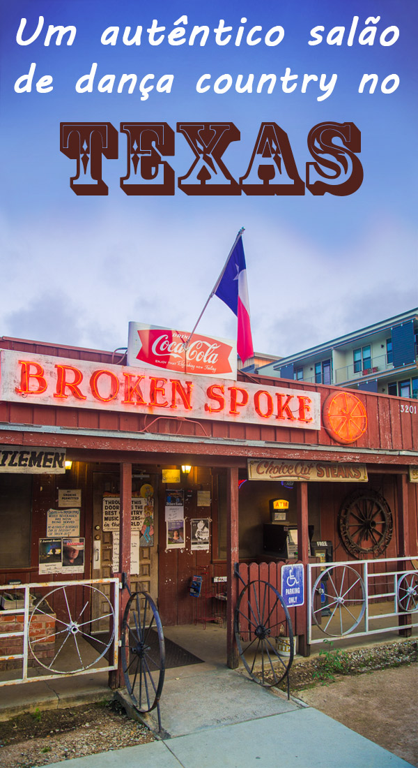 Broken Spoke - Dança country em Austin, no Texas
