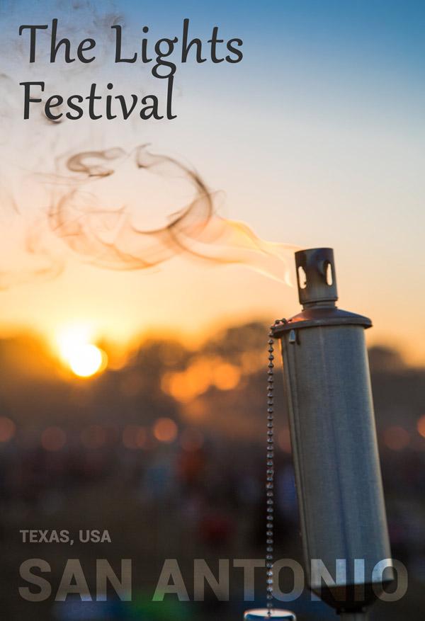 Experiencing the Lights Festival in San Antonio, Texas