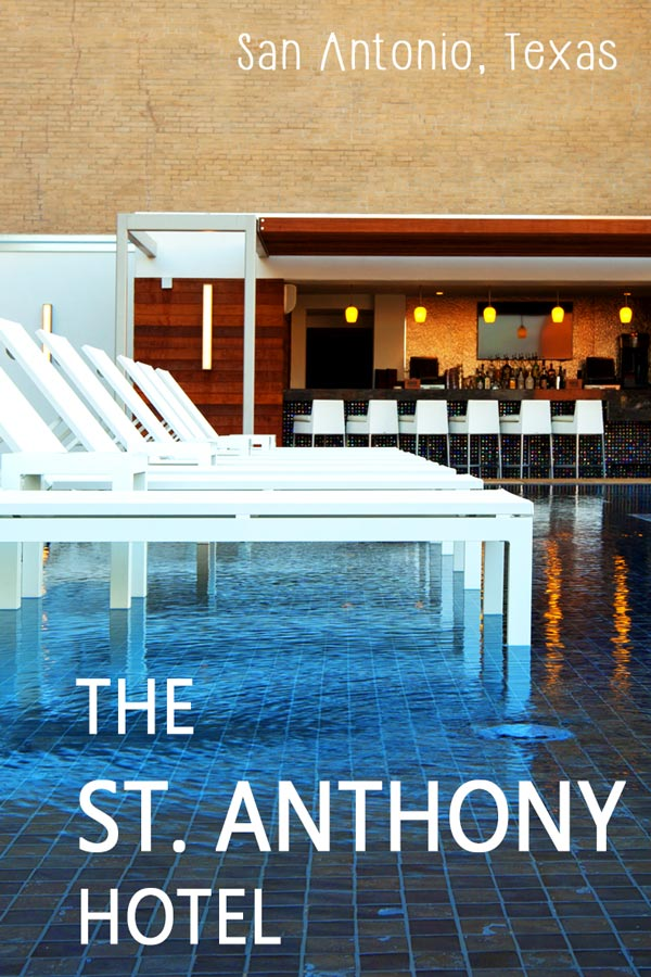St Anthony Hotel in San Antonio, TX - a luxury hotel near the River Walk and the Alamo.
